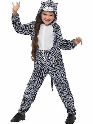 Girls boys Tabby Cat Costume Kids School Book Week Fancy Dress Story - Tabby Cat Costume