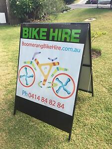 A Frame steel sign near new Wamberal Gosford Area Preview
