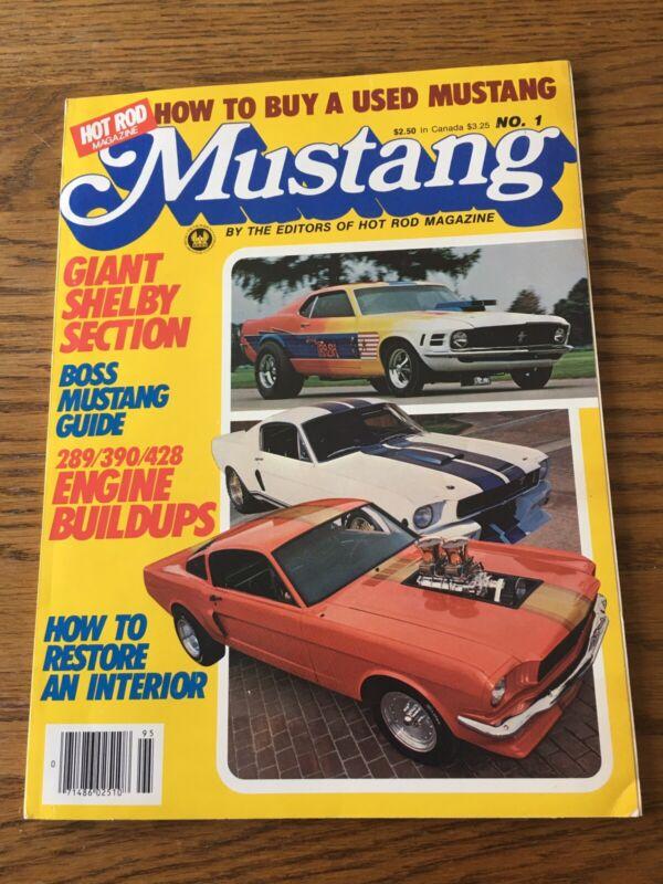 Hot Rod Mustang Magazine 1980 Vol 1 No 1