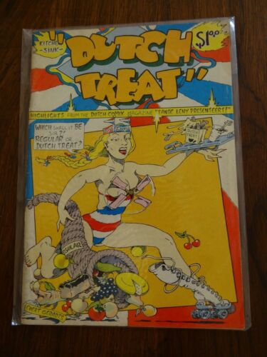 Dutch Treat #1 Underground Comic Comix Book Kitchen Sink