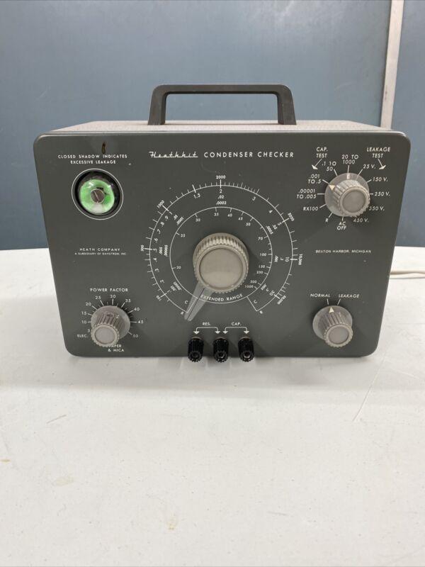 Heathkit C-3 Condenser (Capacitor) Checker