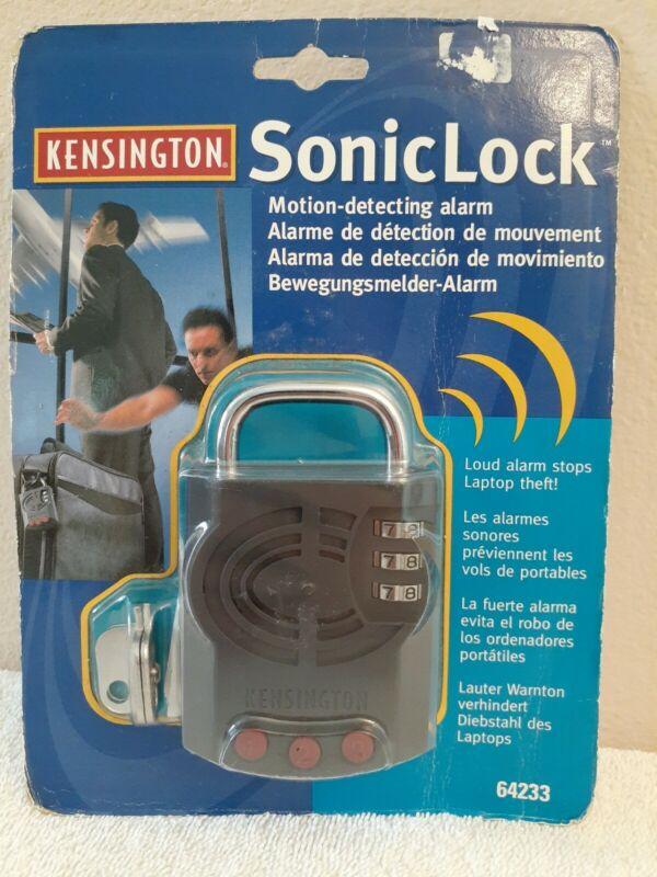 Kensington SonicLock w/ Motion Detecting Alarm - Stops Laptop Theft