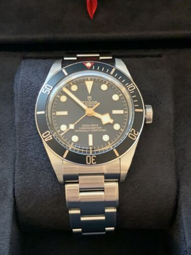 Full Set! Tudor Black Bay 58 Fifty-Eight w/ Stainless Steel Bracelet (79030N)  - watch picture 1