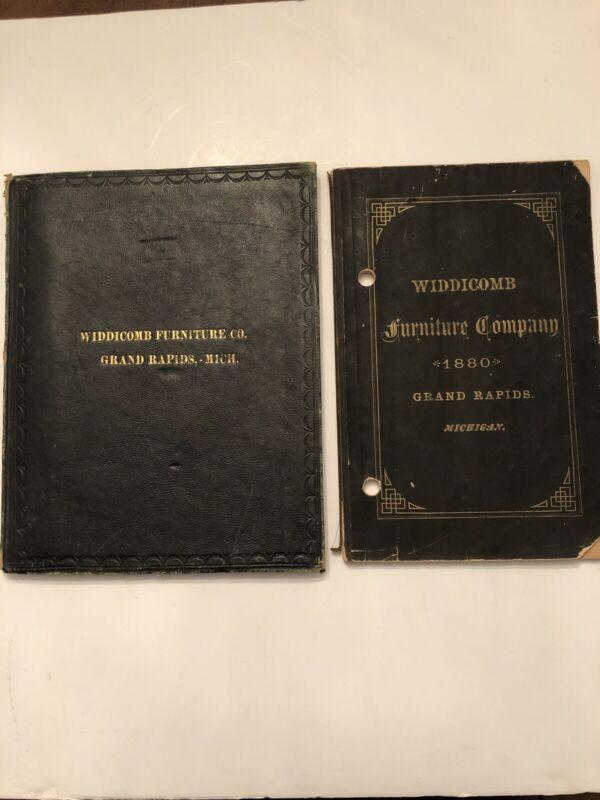 Widdicomb Furniture Company Grand Rapids Photo Catalogue and 1880 Price Book