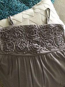 INC knit maxi dress