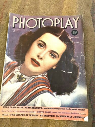 Photoplay - November1939 (Hedy Lamarr vol 53 #11)