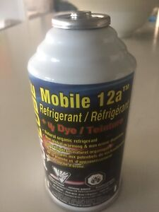 REFRIGERANT REPLACEMENT FOR R134A 6OZ CANS & UV DYE