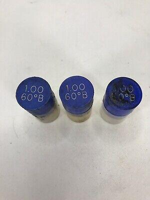 Lot Of 3 Delavan 1.00 60b Oil Burner Nozzles Furnace Boiler 1.00 60 Deg B