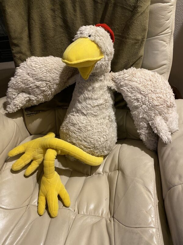 """2000 Foster Farms Imposter 36"""" GIANT Plush Chicken Stuffed Authentic Vintage"""