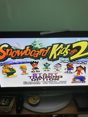Snowboard Kids 2 For The N64 Poor Condition Ex-rental Tested And Works