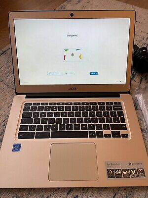 Acer Chromebook 14 Gold Laptop