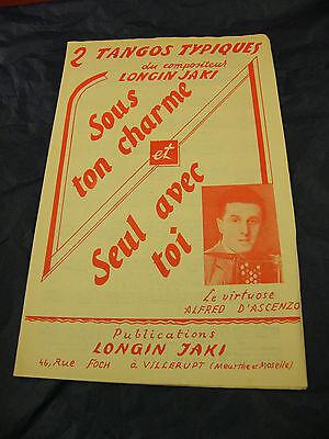 harme et Seul avec toi Longin Jaki Alfred d'Ascenzo 1955 (Ton-charme)