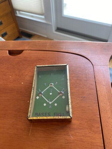 """ BASES FULL "" . Baseball Handheld Dexterity Puzzle . 1930's  ?"