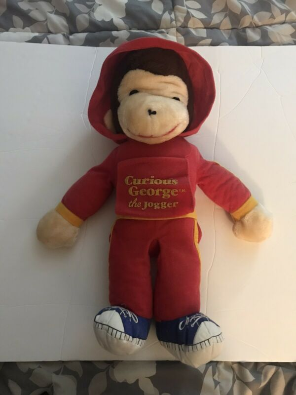 Curious George The Jogger Plush 18""