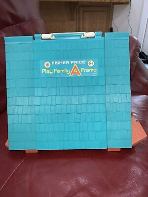 Fisher Price Vintage Play Family A Frame 990 Little People Toy House