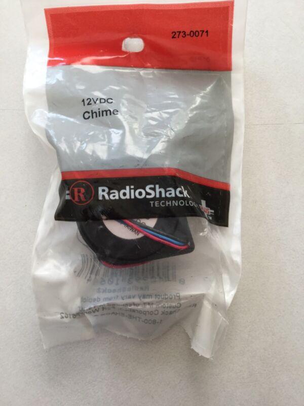 RadioShack 12VDC Chime #273-0071 New!!