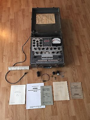 Stark Model 9-66 Military Surplus Dynamic Mutual Conductance Tube Tester Rare