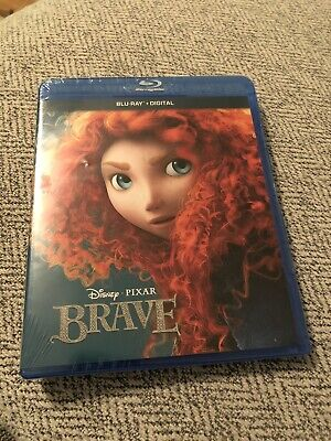 Brave (Blu-ray Disc, 2017) Disney/Pixar