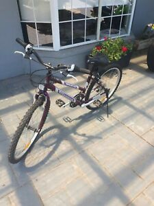 Purple Women's Off-Road Bicycle - recently serviced, new gears
