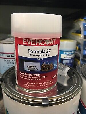 New Formula 27 All Purpose Filler evercoat 100571 Pint Formula 27 Filler