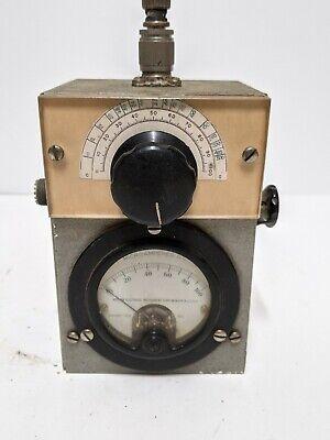 Weston Dc Microamp Meter