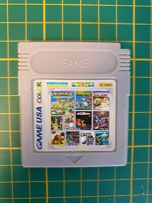 RARE GB SUPER 128 IN 1 MULTICART COLOR ADVANCE ALL US Nintendo Gameboy Game boy