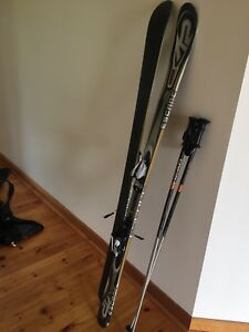 Downhill ski K2 Escape cruiser,Marker binding, poles,carry bag
