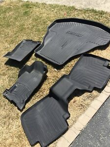 Honda Accord All Weather Mats and Trunk Tray