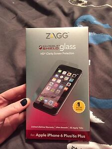 Zagg glass HD screen protector