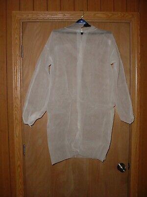 Lot Of 14 Cellucap Disposable Lab Coats Dentist Size L