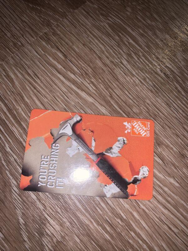Home depot gift card 200$