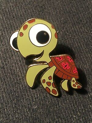 DISNEY PIN SQUIRT THE BABY TURLTE FINDING NEMO CUTE WDW PIN](Cute Squirt)