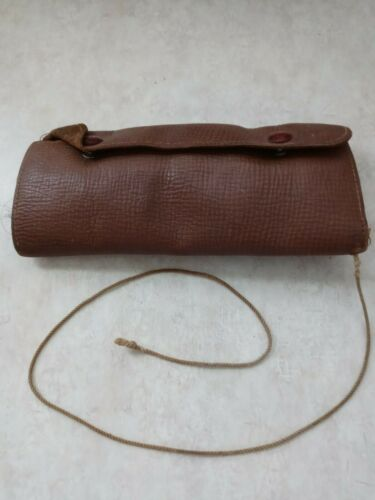 Vintage - Leather Fly Fishing Wallet Folding Fly Holder