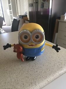 Talking minion toy