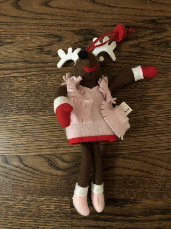 Pottery Barn Kids - Vixen Reindeer Ornament
