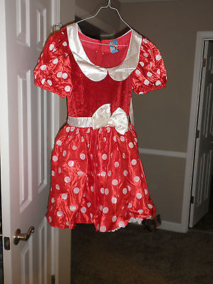 Minnie Mouse Costumes For Adults (DISNEY STORE Minnie Mouse Costume for ADULT NEW LARGE Mickey's)