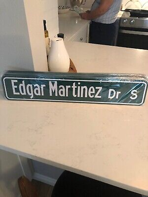Edgar Martinez Dr Street Sign SGA 8/11/19 Hall of Fame Seattle Mariners
