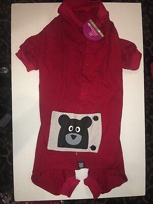 PetRageous Designs Teddy Bear Dog PJs, - Teddy Bear Dog