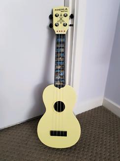 Makala Watermelon plastic ukulele South Brisbane Brisbane South West Preview
