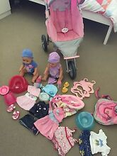 Baby born pram, dolls, clothes and accessories Bli Bli Maroochydore Area Preview