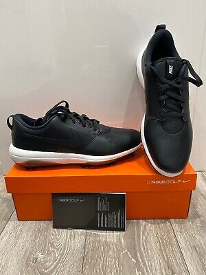 Nike Roshe G Tour Black Golf Shoes Waterproof New In Box RRP £95 Size 8.5