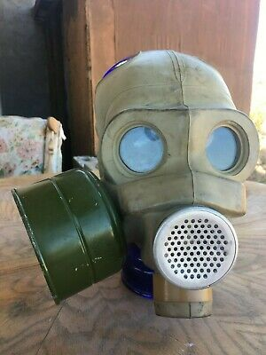 Scary Original 1973 Soviet Military Gas Mask! Halloween Costume Event Decoration (Scary Gas Mask Halloween)