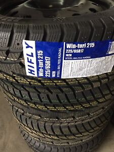 225/65/17 NEW WINTER HIFLY TIRES ON RIMS $165 EACH