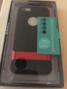 NEW IPHONE 6 6S CASE W KICKSTAND - NEVER USED