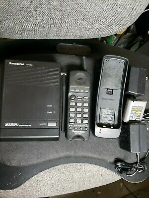 Panasonic Kx-t7880 900 Mhz Wireless Phone Refurbished Done By Escinc.