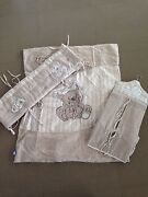 Living textiles misha bear cot set East Gosford Gosford Area Preview