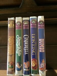 Disney VHS masterpiece and gold editions