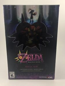 Brand New/Sealed Majora's Mask 3D game and figure.