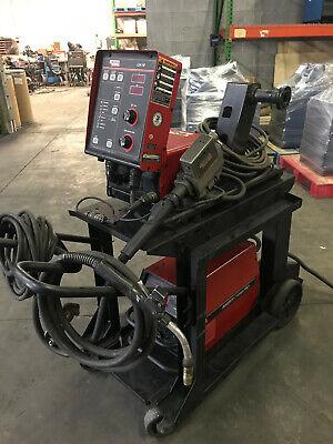 Lincoln Invertec V350-pro Mig Welder On Cart