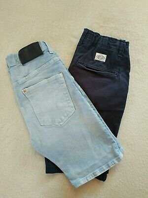 Und 1 Jungen Shorts (H & M Jungen Shorts - 1 Jeans Shorts 146 und 1 Baumwolle Shorts 152)